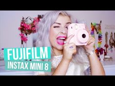 Fujifilm Instax Mini 8 - How to use - YouTube. I'm am getting this one instead you can't go wrong with this one