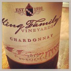 King Family wine! Crozet, Virginia.