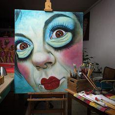 #workinprogress  Monica Spicciani #Painter #Painting in #Tuscany #Italy #art #fineart #artist #studio #contemporaryart #portrait #italianpainter #oil #figurative  http://www.monicaspicciani.it Monica Spicciani #Painter #Painting in #Tuscany #Italy #art #fineart #artist #studio #contemporaryart #portrait #italianpainter