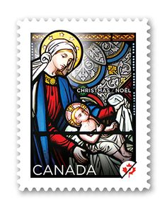 2012 Canadian Christmas Stamp
