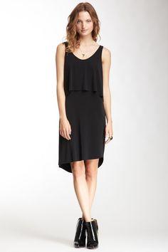 Scoop Neck Overlay Sleeveless Dress by Graham & Spencer on @HauteLook