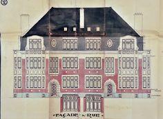 Schaerbeek - Boulevard Général Wahis 25, 27, 29-29a - Rue des Pavots 50-50b - HERENT Ernest