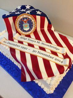US Air Force Military Cake
