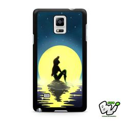 Ariel Mermaid On The Night Samsung Galaxy Note 4 Case