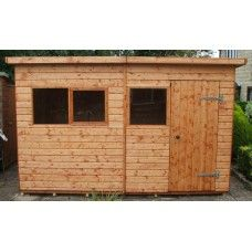 Extra Heavy Duty Workshop - Pent Roof Workshops from Shed Scene Garage Doors, Workshop, Shed, Outdoor Decor, Home Decor, Homemade Home Decor, Atelier, Backyard Sheds, Sheds