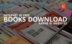 Internet se books download krne ki best websites