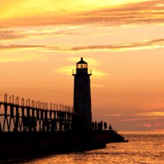Manistee Sunset