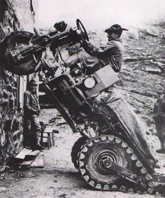 Moto Guzzi Mule, 1965.