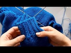 """""""Yarn Over"""" stacked increase 11 stitches from 2 *** Столбик с накидами 11 петель из 2 - YouTube"""