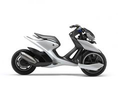 Yamaha presents 03GEN three-wheel scooter concepts - Car Body Design