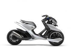 Yamaha presents 03GEN three-wheel scooter concepts - Car Body Design