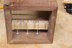 Wooden Puzzle Box : 22 Steps (with Pictures) - Instructables Wooden Puzzle Box, Wooden Puzzles, Wooden Boxes, Woodworking Jewellery Box, Mind Puzzles, Magic Box, Wine Rack, Liquor Cabinet, Storage