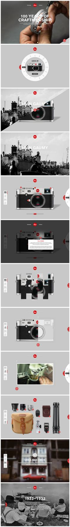 Leica | #webdesign #it #web #design #layout #userinterface #website #webdesign < repinned by www.BlickeDeeler.de | Take a look at www.WebsiteDesign-Hamburg.de