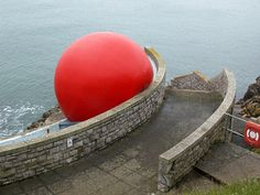Red Ball by chrisinplymouth, via Flickr