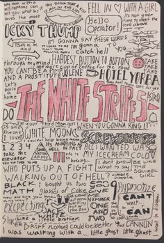 Lyrics icky stripes thumb white