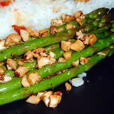 Asparagus & Cashews - gonna give it a try!