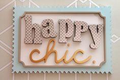 HAPPY CHIC - Diseño para Entornos Felices nace de un Estilo en Decoración de Interiores.-