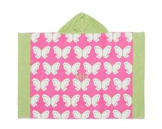 Butterfly Baby Beach Wraps | Pottery Barn Kids