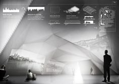 Archmedium Concursos de arquitectura Basel Pavilion of Culture Project