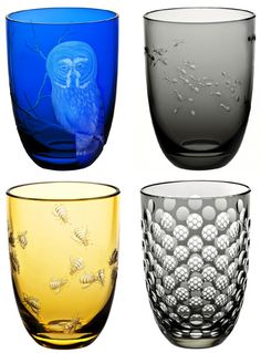 Owl Tumbler from Small Worlds by Christian Haas for Theresienthal