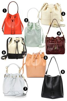 This spring, make a statement with bright accessories. Shop these 8 bucket bags and 8 other purse trends this season.