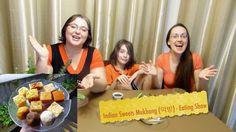 Indian Sweets Gay Family Mukbang (먹방) - Eating Show