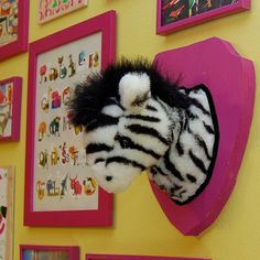 DIY   Mounted Stuffed Animal Head!  LOL  TUTORIAL   Great idea for old loved stuffies....or a great gag gift....a den conversation piece....or a kids room!!!!!