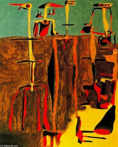 Joan Miro >> Personajes sentados