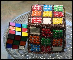 Un gourmand rubik's cube