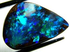 AAA QUALITY BOULDER OPAL CUT STONE 12.40 CTS NC-663 BOX http://www.opalauctions.com/auctions/boulder-opal/item-291718