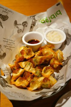 Korean Fried Dumplings (군만두) by marla