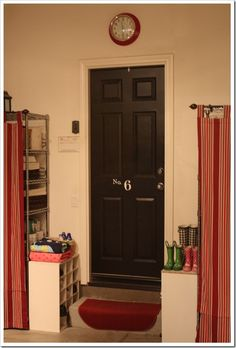 DIY Garage Mudroom Tutorial : great idea for keeping clutter and dirt out of the house!