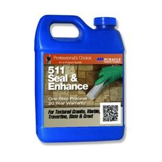 Miracle Sealants 32 fl. oz. 511 Seal and Enhance Stone Sealer and Enhancer-SEA QT - H - The Home Depot