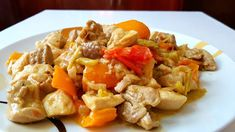 Τηγανιά κοτόπουλου !!! ~ ΜΑΓΕΙΡΙΚΗ ΚΑΙ ΣΥΝΤΑΓΕΣ 2 Cookbook Recipes, Cooking Recipes, Healthy Recipes, Kung Pao Chicken, Salads, Recipies, Sweets, Stuffed Peppers, Meat