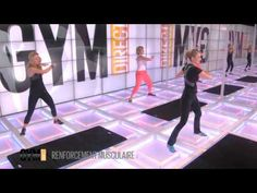 Musculation Abdos, Jambe, Cuisse, Fessiers - Renfort musculaire 39 - YouTube