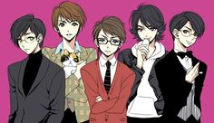 Arashi boys as their most famous TV characters.
