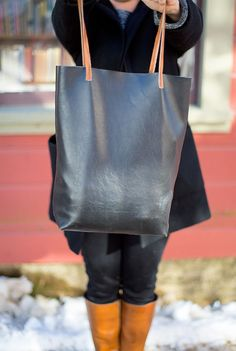 Ohoh Blog - diy and crafts: 5 DIY to Try # Leather bag