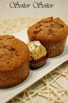 Muffins de Ferrero Rocher