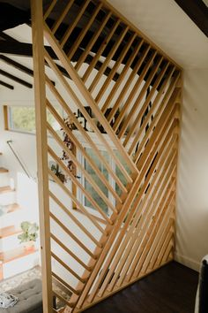How to Live in 360 Square Feet When You're a Family of 3 SOdomino room house architecture wood hardwood plywood stairs handrail 64739313380770904 Future House, My House, House With Balcony, Diy Casa, Style At Home, Cheap Home Decor, Home Fashion, Home Projects, Outdoor Projects