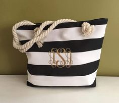 Hey, I found this really awesome Etsy listing at https://www.etsy.com/listing/235492526/beach-tote-bag-monogrammed-tote-bag