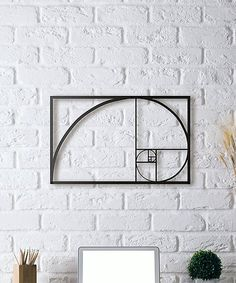 Hoagard Golden Ratio Metal Wall Décor | zulily