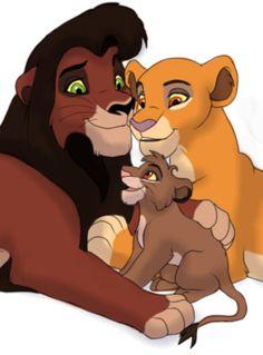 Kiara and Kovu and their Cu