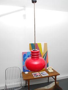 Vintage Bubble Lamp Van Rood Glas RetroRaum Via DaWanda