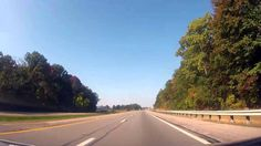 Driving on the Ohio Turnpike from North Ridgeville to Indiana
