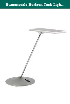 Humanscale Horizon Task Light - White. A visually striking embodiment of Humanscale's commitment to high performance and minimalist functionality, Horizon is the ideal LED task light for high design environments. Accepted into the permanent collection of the Museum of Modern Art (MoMA) in 2011, Horizon uses new Thin Film LED Technology to deliver excellent ergonomic lighting and easy adjustability in a sleek package. Horizon is the pinnacle of high technology packaged in ergonomic design....