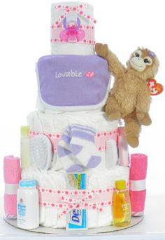 Girl Orangutan Diaper Cake Orangutan, Diaper Cupcakes, Boy Or Girl, Children, Baby, Ideas, Shower, Girls, Young Children