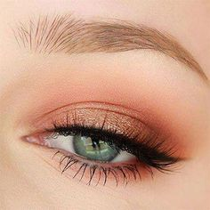 Easy Natural Eye Makeup Tutorial For Beginners; Makeup Forever Eyeshadow another Makeup Revolution L Eyeshadow Looks, Eyeshadow Makeup, Makeup Brushes, Dark Eyeshadow, Green Eyeshadow, Glitter Eyeshadow, Drugstore Makeup, Makeup Remover, Natural Eye Makeup