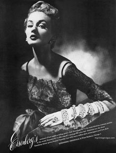 Eisenberg's jewellery advertisement, 1951.