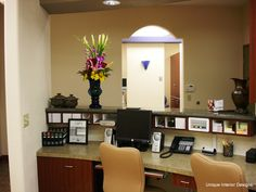 what color to paint office | Dental Office Showcase #2 | Unique Interior Designs | Dental Office ...