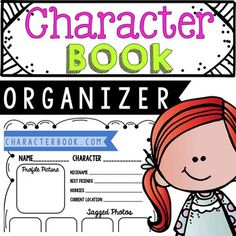 Character Book is designed like a Facebook page. Have your students make a Character Book for different main characters in ANY book they are reading! Product by Education Lahne